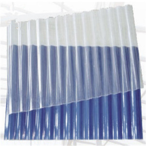 New transparent home types roofing tile clear plastic sheets/plastic roof