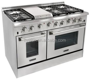 Hyxion Thor Kitchen 48 Freestanding Best Pro Range Style Ranges Hrg4804u