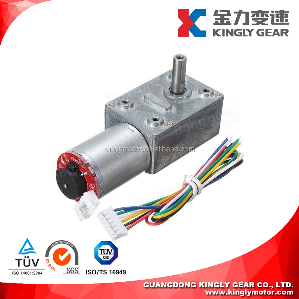 12v DC Motor with 90 Degree Gearbox,DC Geared Motor with Encoder,Permanent Magnet Motor Reductor 24v
