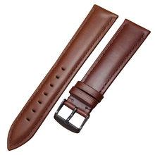Ремешок для часов, из натуральной кожи высокого качества, 18 мм, 19 мм, 20 мм, 21 мм, 22 мм, 24 мм(China)