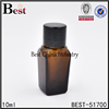 new square glass bottle wholesale made in china square essential oil glass bottle with pump sprayer cap
