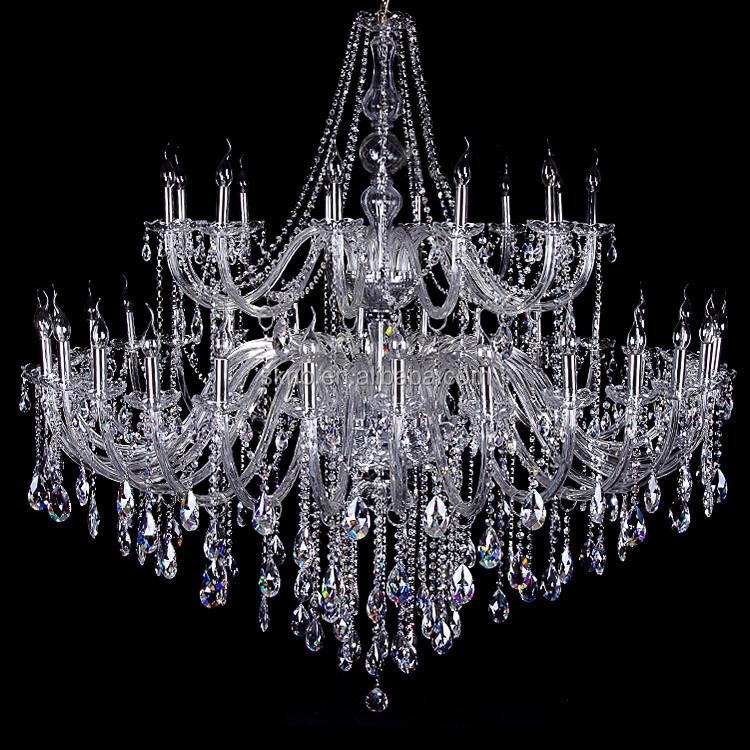 lamparas de techo lmpara de techo araa de cristal de
