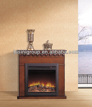 Simple Design Fake Flame Electric Fireplace Cheap Price Bf09 42062