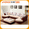 Inner Wood Fabric Furniture Living Room Sofa Set Designs