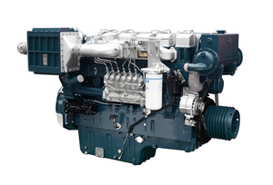 Boat 480HP used marine diesel propulsion engine YC6T480C