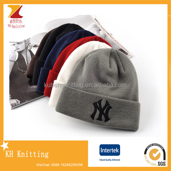 Walmart Cool Winter Embroidery Knitting Hats - Buy Novelty Knitted ... 9ba7ca06500