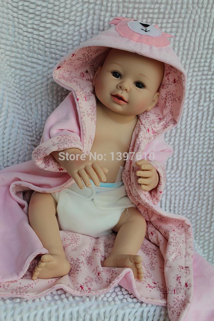 Realistic Baby Boy 20 Inch Lifelike Baby Born Doll Fashion