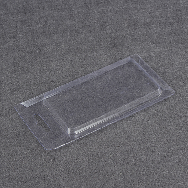 Clear Custom Slide Card Blister Packs With Printed Insert Card