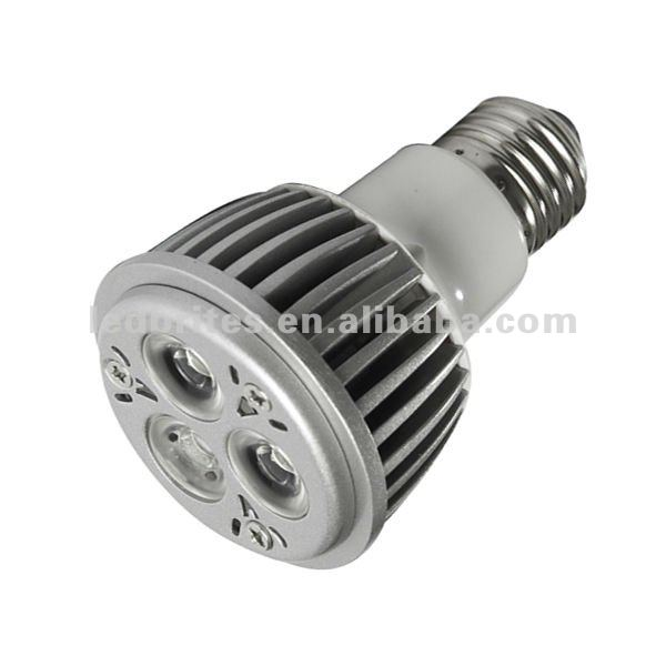 High power PAR20 LED bulbs E27 lamp base