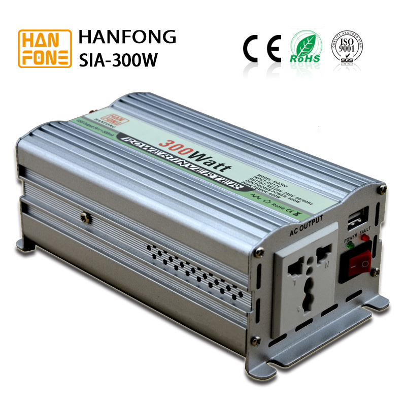 Hot Sale 300w output 24vdc to 12vdc dc to ac step down converter/inverter