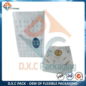 Printing Packaging Pouch For Packing 1kg Basmati Rice