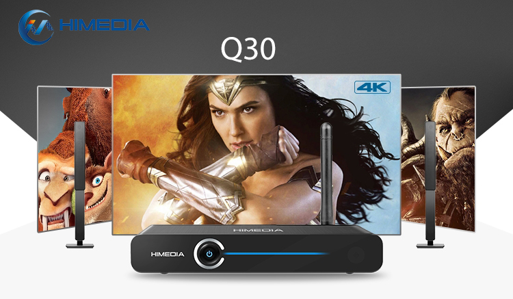 2018 New Product Himedia Q30 TV Media Player Android7.0 Android TV Box TV Box