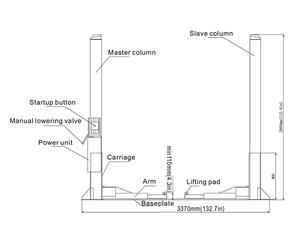 Launch Car Lift Schematic - All Diagram Schematics