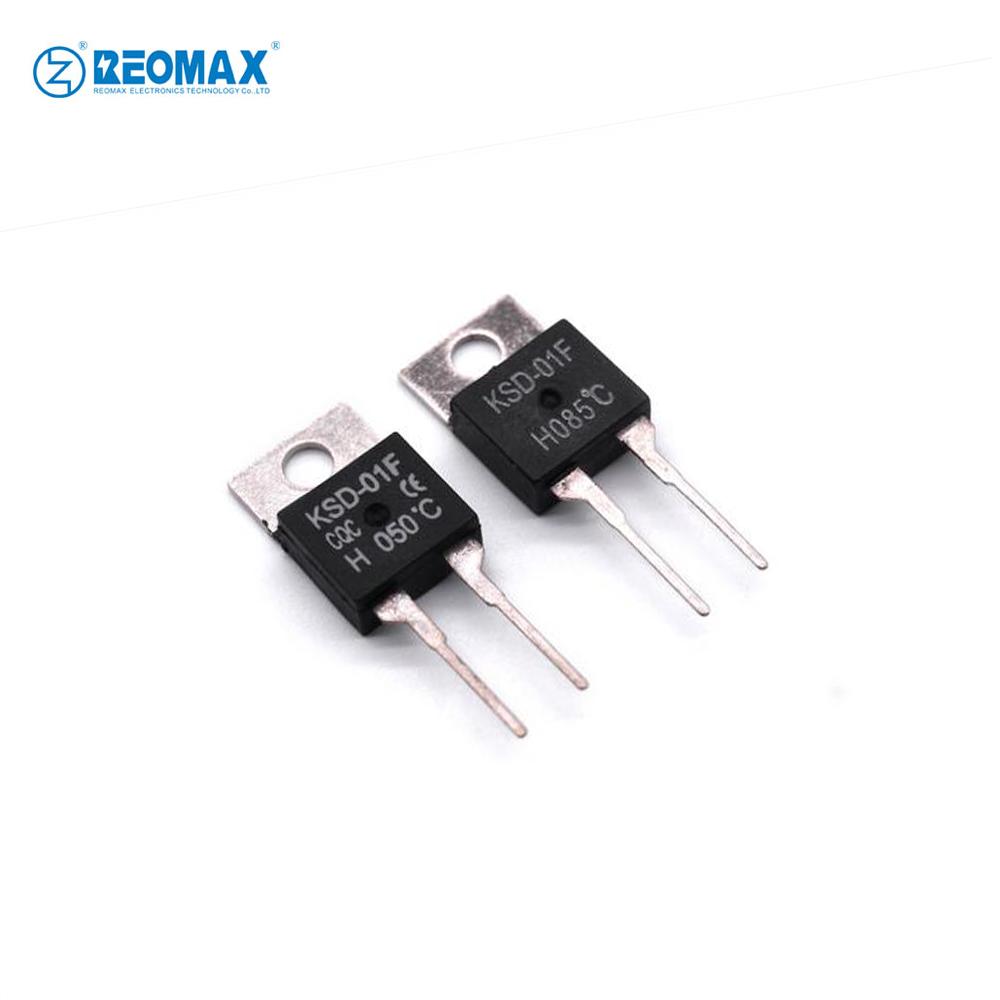 Adjustable Snap Action Temperature Switch KSD301 125V 250V 10A 15A 16A Thermal Disc KSD Bimetal Thermostat