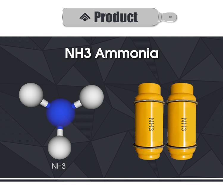 Industriële gas toepassing ammoniak cilinder