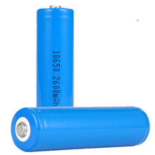 3,7 V 2600mah <span class=keywords><strong>18650</strong></span> wiederaufladbare lithium-ionen batterie