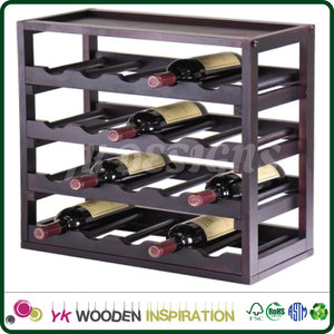 Wine Cabinet Bar Furniture Rack Table Wood Storage Container Cube