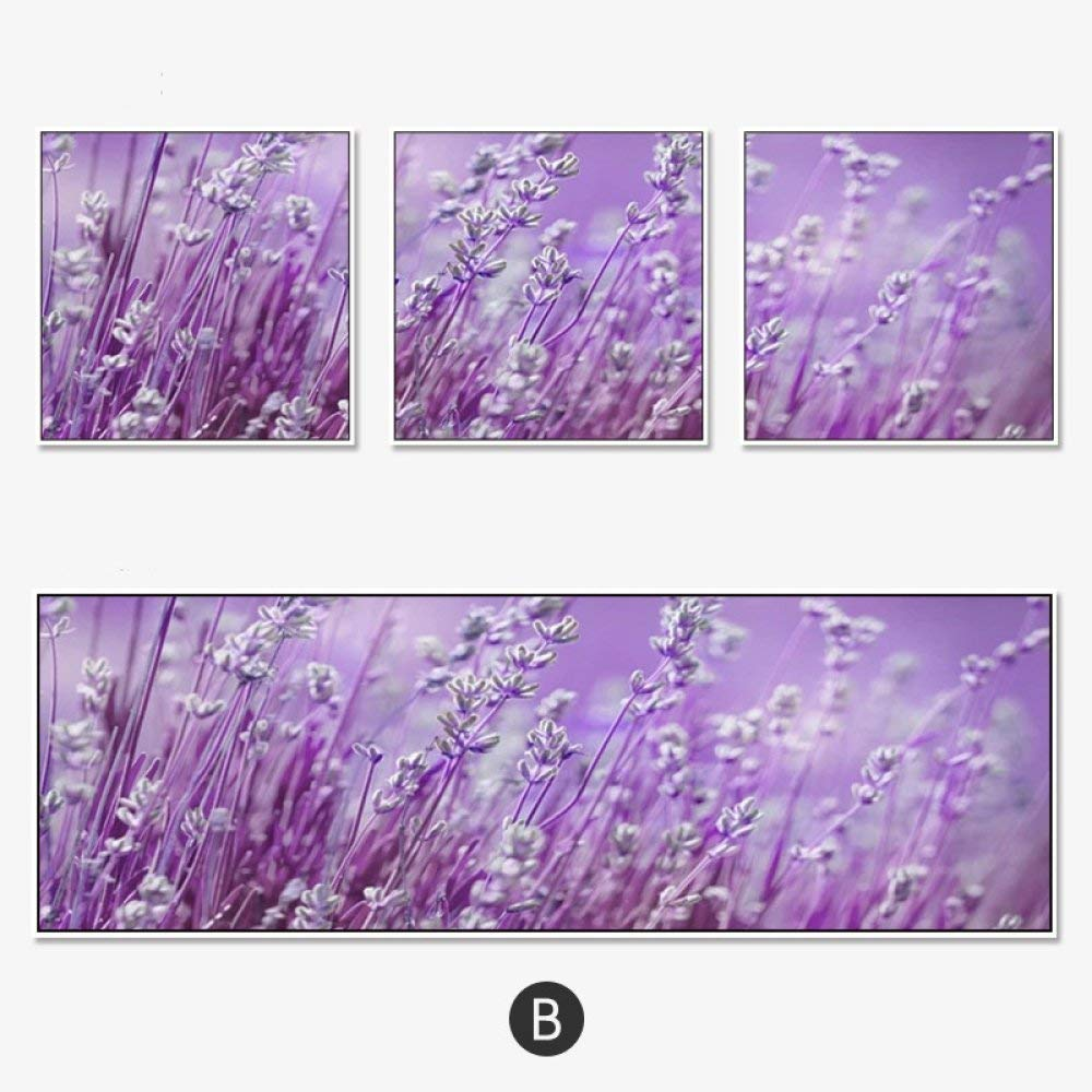 STTS Living Room Decorative Painting, Sofa Background Wall, Modern Minimalist Triptych, Hotel Bedroom Bedside Painting