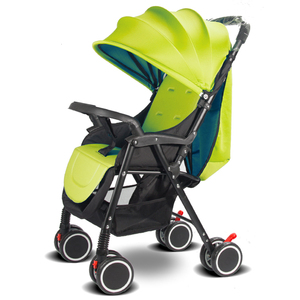 new design stroller kids pram stroller/Cotton Material baby trolley with 8 EVA weel
