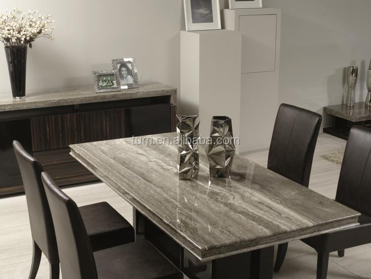 Luxury Marble Top Dining Table For Room Furniture
