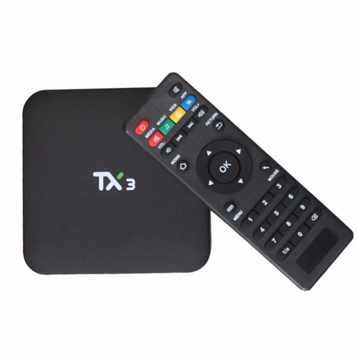 android tv box with sim card Tx3 Android S905 Quad core Set top Box 1G 8G Android 5.1 KD player Media Player set top box wifi