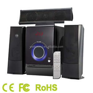 Strong bass Subwoofer 2.1 Multimedia Speaker 3.1 Speaker with USB/SD/FM/Remote Control cheap high quality china manufacturer