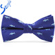 jacquard woven fabric custom led bowtie design your own bow tie