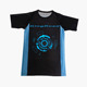 Custom sublimated dry fit mens compression t shirts athletic apparel gym shirts