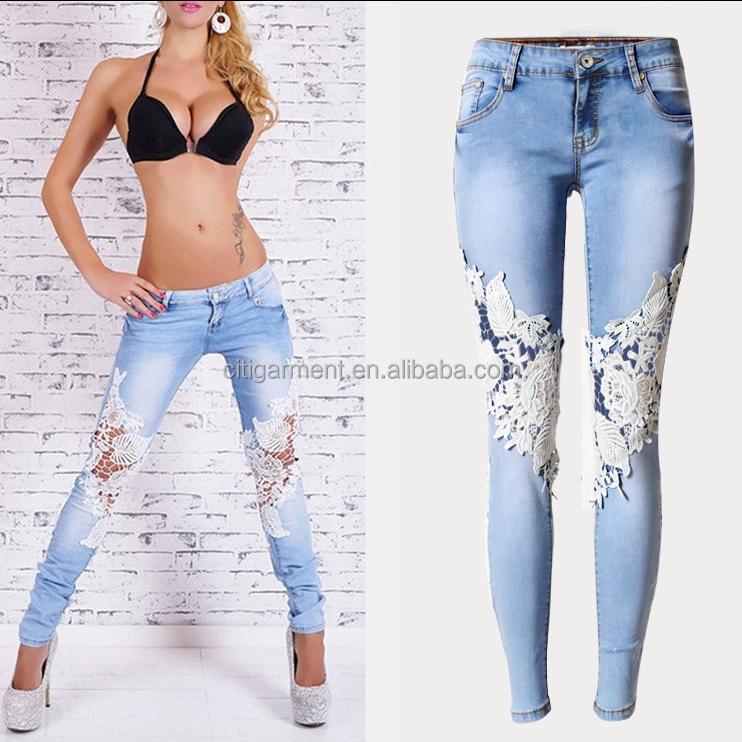 2d39d0ee6210 Venta al por mayor jean de moda dama-Compre online los mejores jean ...