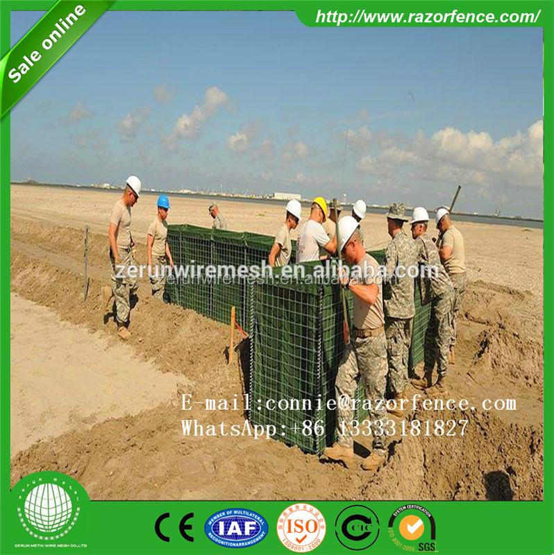 pvc coated hesco bastions decorative gabion mesh rock box sea retaining wall
