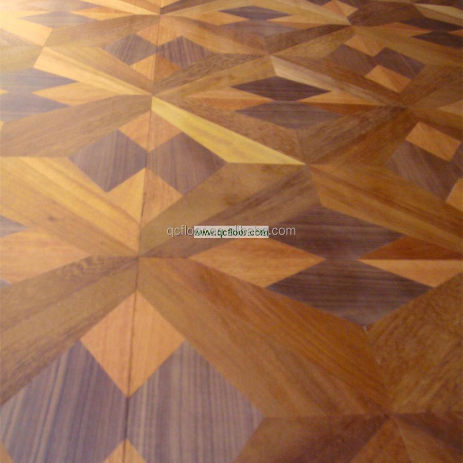 나무 바닥 나무 마루/ 목재 바닥 타일/ 예술 쪽모이 세공 마루 ...