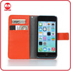 China Manufacturer New Pantone Colors Leather Wallet Case for iphone 5c
