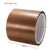 High Quality Double Side PTFE Fiberglass Cloth Adhesive Tape