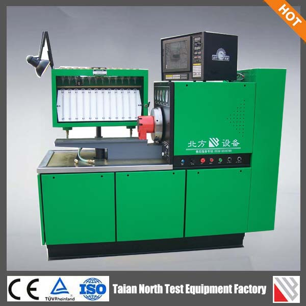 Diesel Fuel Injection Measurement System 12PSB-BFB electrical injection pump test bench