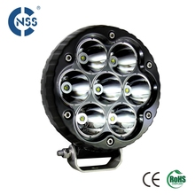 China Factory directly wholesale 12V 24V 6.5inch 70W Round Offroad Auto led work light , led headlight , led driving light 4x4