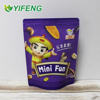 Customized Plastic Containers Packaging Custom Waterproof Bags Printed Stand Up Pouch With Zipper Compostable Food Bag