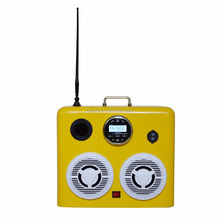 Waterproof marine speakers box radio outdoor with RCA for boat