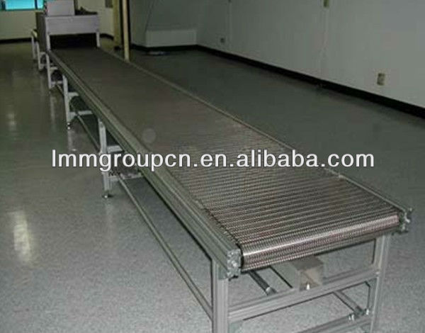 industrial production line steel wire mesh conveyor