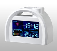 Gold Supplier & Trade Assurance weather forecast clock LED electronic clock