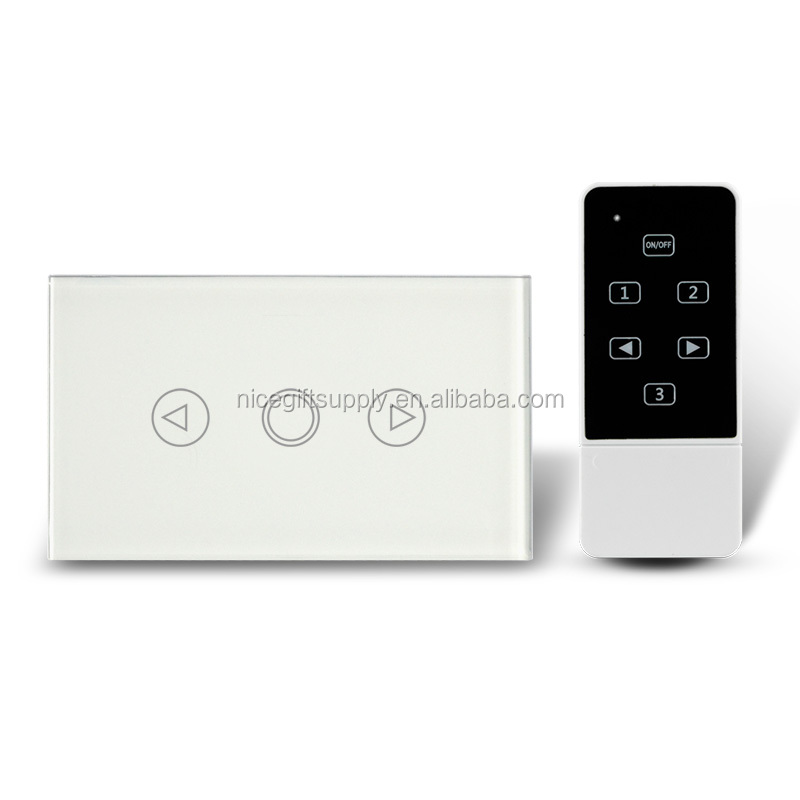 SAA LED Light Touch Dimmer Switch with Touch Glass Panel for US AU NZ Standard market