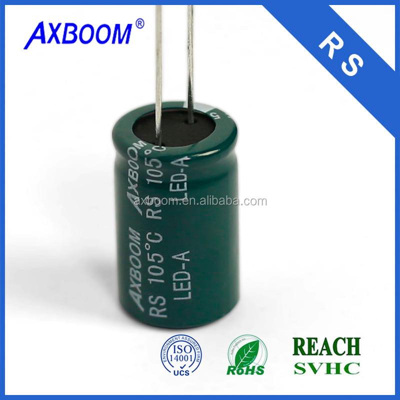 QUANTITY 10 8 x 12mm CHONGX 25V 330UF 105c Capacitors