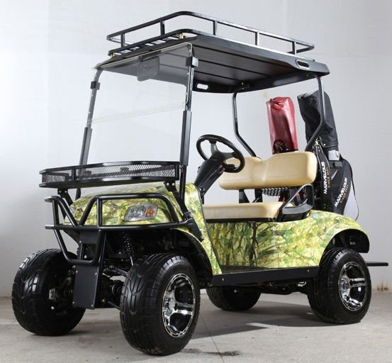 v hicule tout terrain lectrique chariot de golf 4wd lectrique chasse voiturette de golf. Black Bedroom Furniture Sets. Home Design Ideas