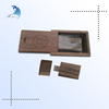 Good quality modern design personalized durable business gifts wood box usb