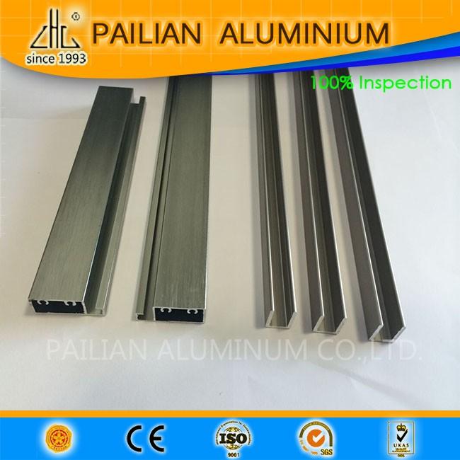 venta caliente pulido zhonglian perfiles de aluminio para puertas ... - Perfiles De Aluminio Para Puertas De Bano
