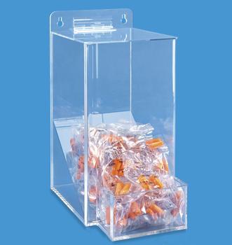 Clear Acrylic Earplugs Dispenser Plexiglass Earplugs