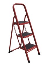 Steel 3 Step folding ladder