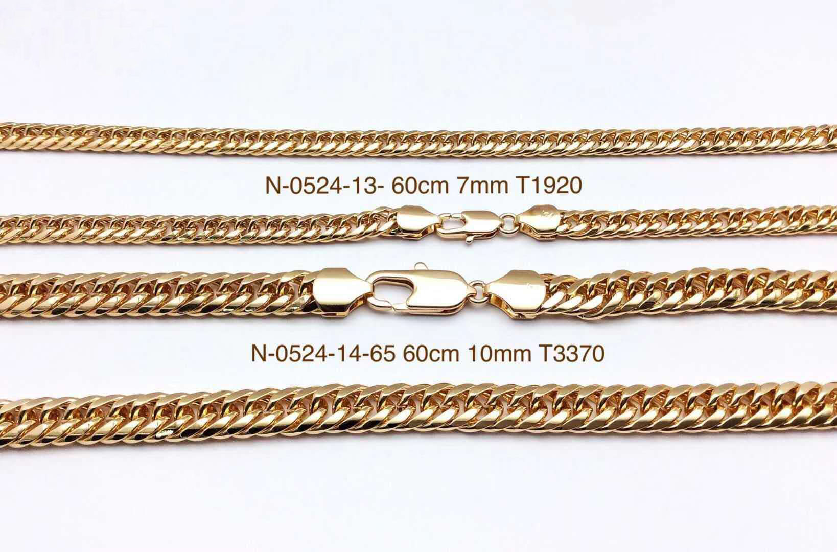 yiwu Xuping hot sale A variety of styles of 18k color chain