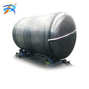 Double wall glass fiber reinforced plastics underground diesel fuel storage tank