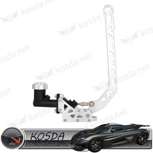auto brake parts aluminum adjustable oil hydraulic handbrake for sale