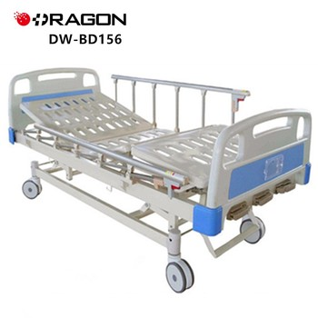 Dw-bd156 Hospital Used Manual Patient Bed For Sale - Buy Hospital Manual  Bed,Hospital Patient Bed,Used Manual Hospital Bed For Sale Product on